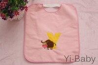 12PCS/Set YB0020 07 Baby waterproof bib Burp Cloths Infant saliva towels Baby bib Free shipping