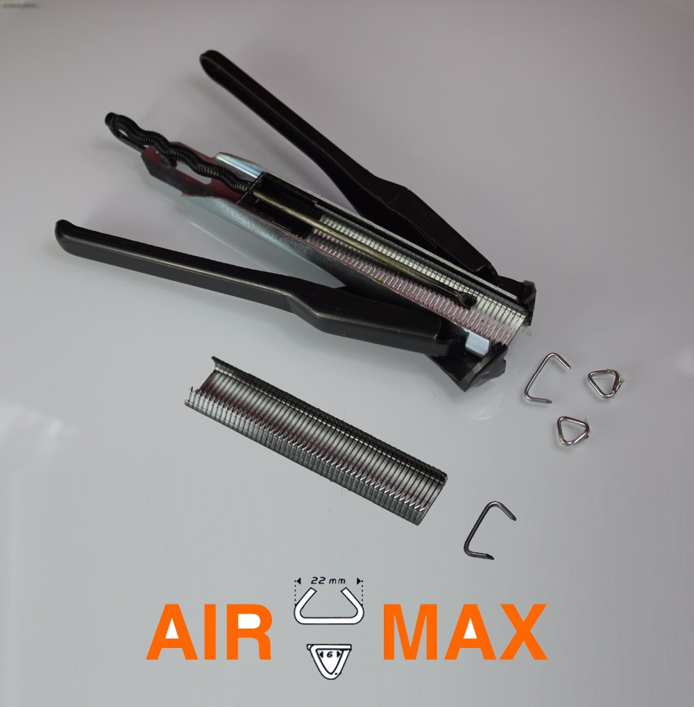 100 rings C22 with Auto-Feed Industrial Collated Hog Ring Plier G22 (not include the custom tax)  цены