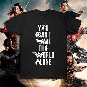 DC Justice League superhero T shirt batman super man t-shirt Summer Cotton  Tee Top Flash Aquaman Zack Snyder Wonder Woman Tshirt c0d4d0a7ede5