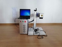 20W30W50W bearing measuring Laser marking machine with rotaty for sale