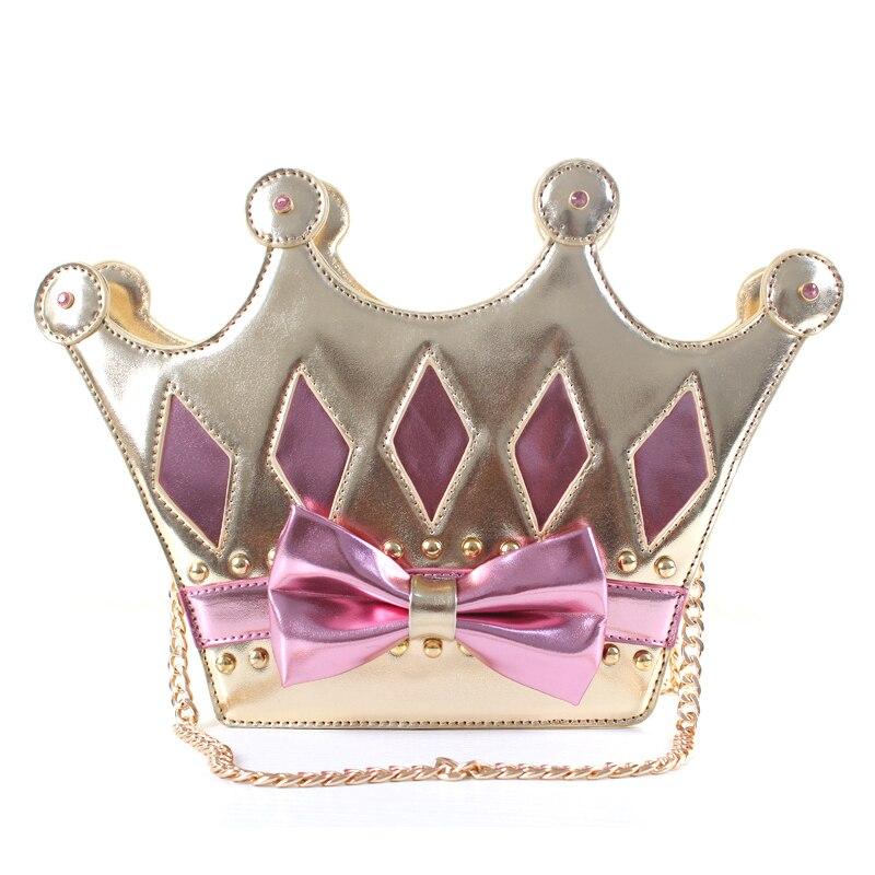Neue Mode Handtasche Schultertasche Umhängetasche AP crown diamantgitter kette mail party