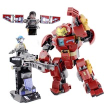 Decool Super Heroes the Hulkbuster Smash-up Iron Man Figures Compatible With 76104 Building Kit XD270