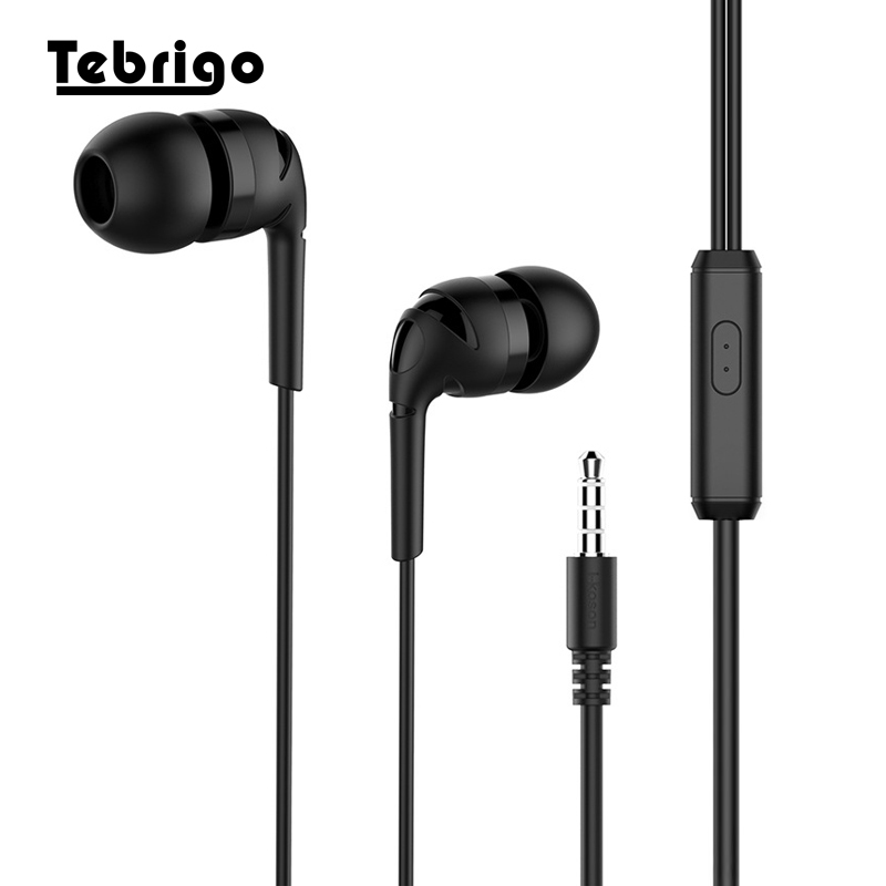 Phone Earphones & Headphones Universal 3.5mm In-ear Stereo Earbuds Earphone Super Bass Music Wired Headset With Microphone Handsfree For Iphone Samsung Mp3