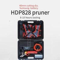 Comprar HDP828 40mm de corte de litio Sumsung herramienta de batería importada para jardín