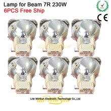 Lights Lighting - Commercial Lighting - Litewinsune Free Ship New 7R 230W Lamp Source Project Lamp Bulb Sharp Beam R7 230W Lighting Replacment Lamp