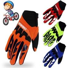 Motorcycle gloves kids chiildren gloves for racing motocross moto riding