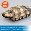 Modelo EasyModel final de trompetista montado modelo 1/72 leopardo tanque de 654 tanque de combate batalhão pode 1944 36242