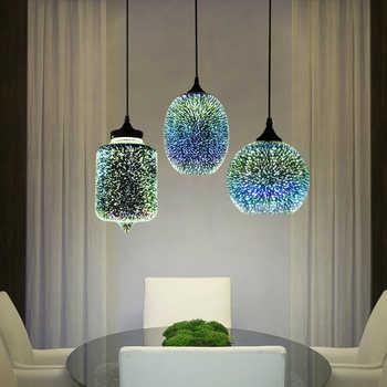 NEWRAYS - Eclairage plafond LED, lampe suspendues au style nordique - amploue E27