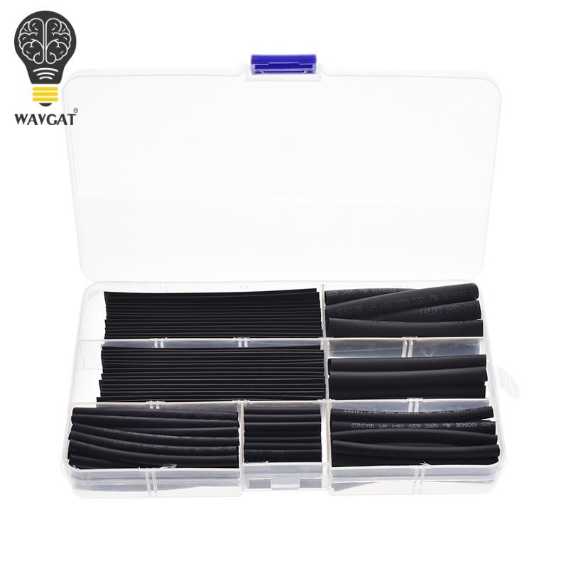WAVGAT Wire-Cable-Kit Sleeving-Wrap Heat-Shrinkable-Tube Tubing 10mm 5mm 4mm 3mm 2mm