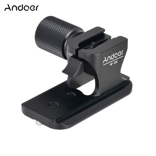 Traitement rapide de la plaque dobjectif de Type arca swiss en métal NF 200 Andoer CNC pour objectif Nikon 70 200mm f/2.8 VR et VRII