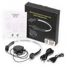 Bone Conduction Headphones Hearing Aid H