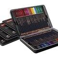Nyoni 12/24/36/48/72 caixa de estanho de cor conjunto de lápis de cor solúvel em água lápis de cor de aquarela lápis de cor de esboço de arte lápis de cor