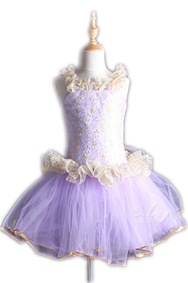 Children Ballet Dress Girls New Year's Day Stage Performance Dress Skirt Girls Dance Skirt Little Swan Performance Costume