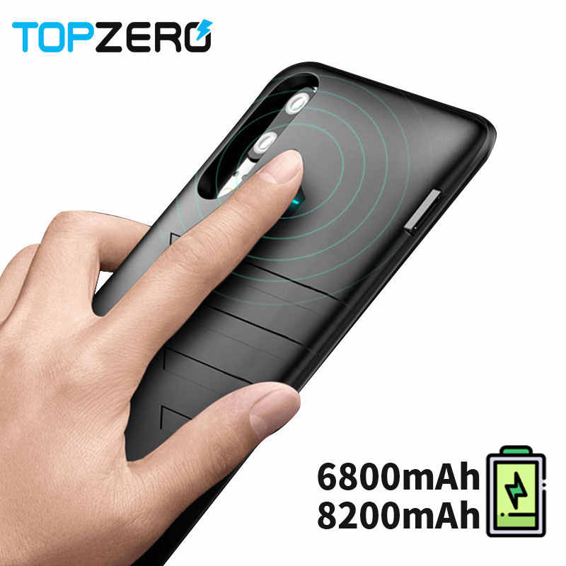 6800mah Ultra thin Battery Charger Case For Huawei P20 Portable Fast Charger Phone Cases Power Bank Case For Huawei P 20 Cover