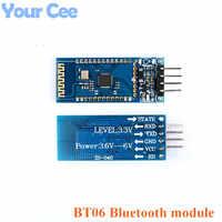 BT06 BT-06 RF Wireless Bluetooth Transceiver Slave Module RS232 / TTL to UART Converter and Adapter for Arduino HC-06