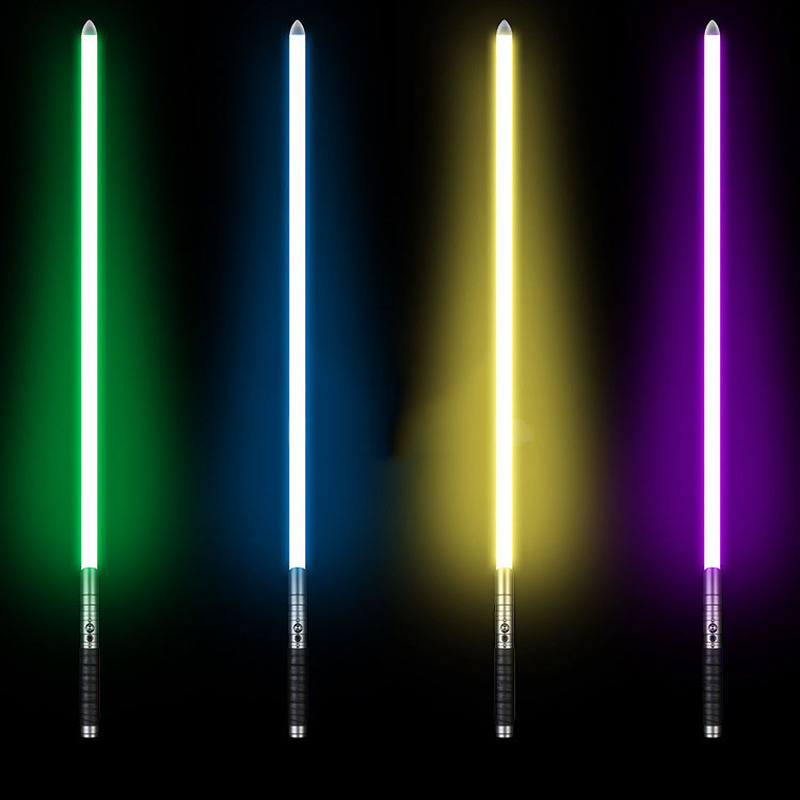 17 Types 100 Cm Cosplay sabre laser avec son Led rouge vert bleu lumière sabre alliage Skywalker épée son Luke jouet cadeaux - 2