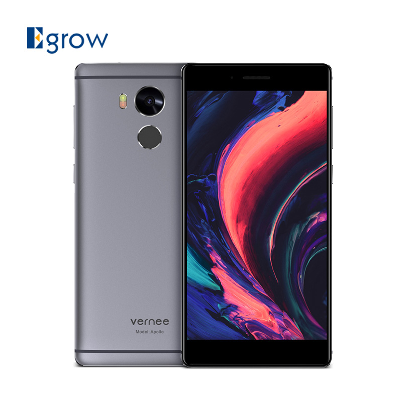 Цена за Оригинал Vernee Apollo VR MTK6797T Дека Ядро Android 6.0 Мобильный телефон 5.5 Дюймов Отпечатков Пальцев Мобильный Телефон 4 Г RAM 64 Г ROM смартфон