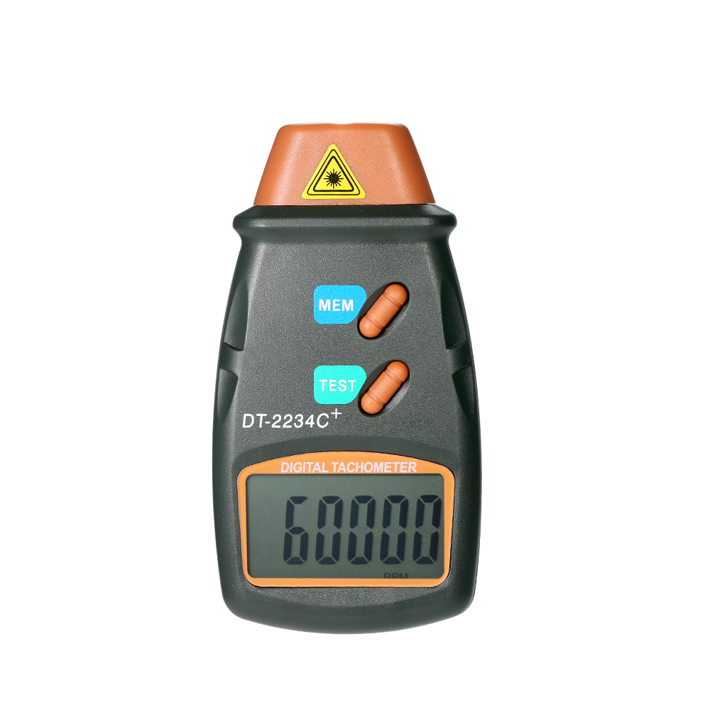 Digital Laser Tachometer RPM Meter Non-Contact Motor Speed Gauge Revolution Spin Drop Speed Meter with LCD Display цены