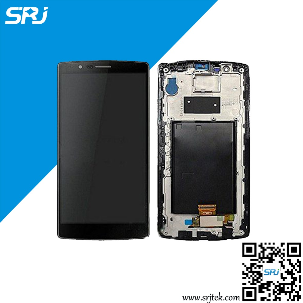 ФОТО Original 5.5 Inch For LG G4 H815 LS991 LCD Display Touch Screen Digitizer Glass Sensor Replacement Assembly+Frame 100% Test