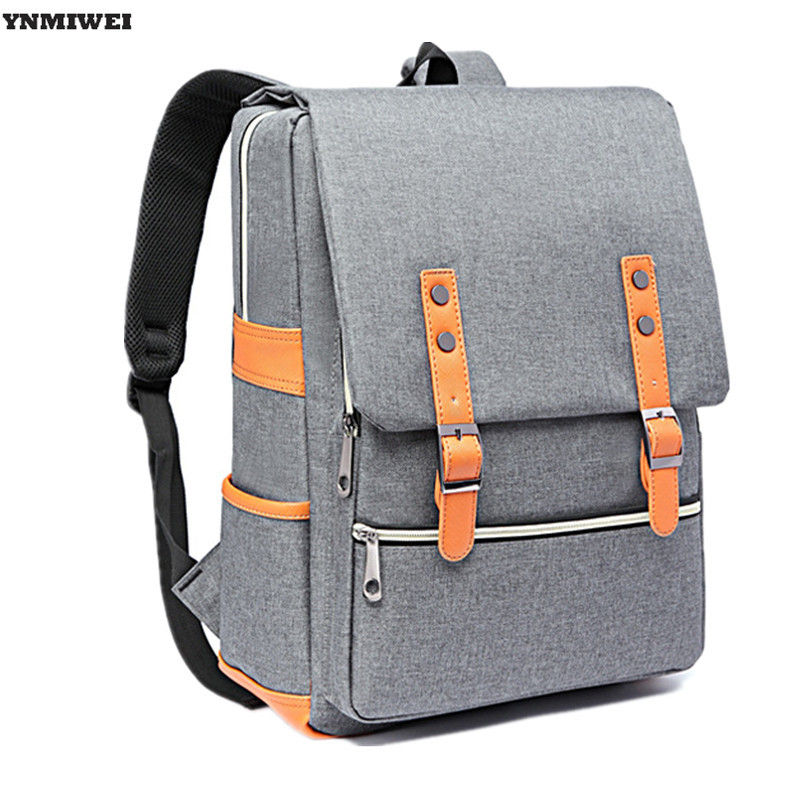 YNMIWEI Laptop Backpack Mochila Escolar Student Bag Universal 14 inch Computer Bag Travel Shoulder Bags For Xiaomi Air 13.3 ynmiwei laptop backpack rucksack shoulder bag for xiaomi air 13 high quality 12 14 15 inch notebook pc backpacks school bag
