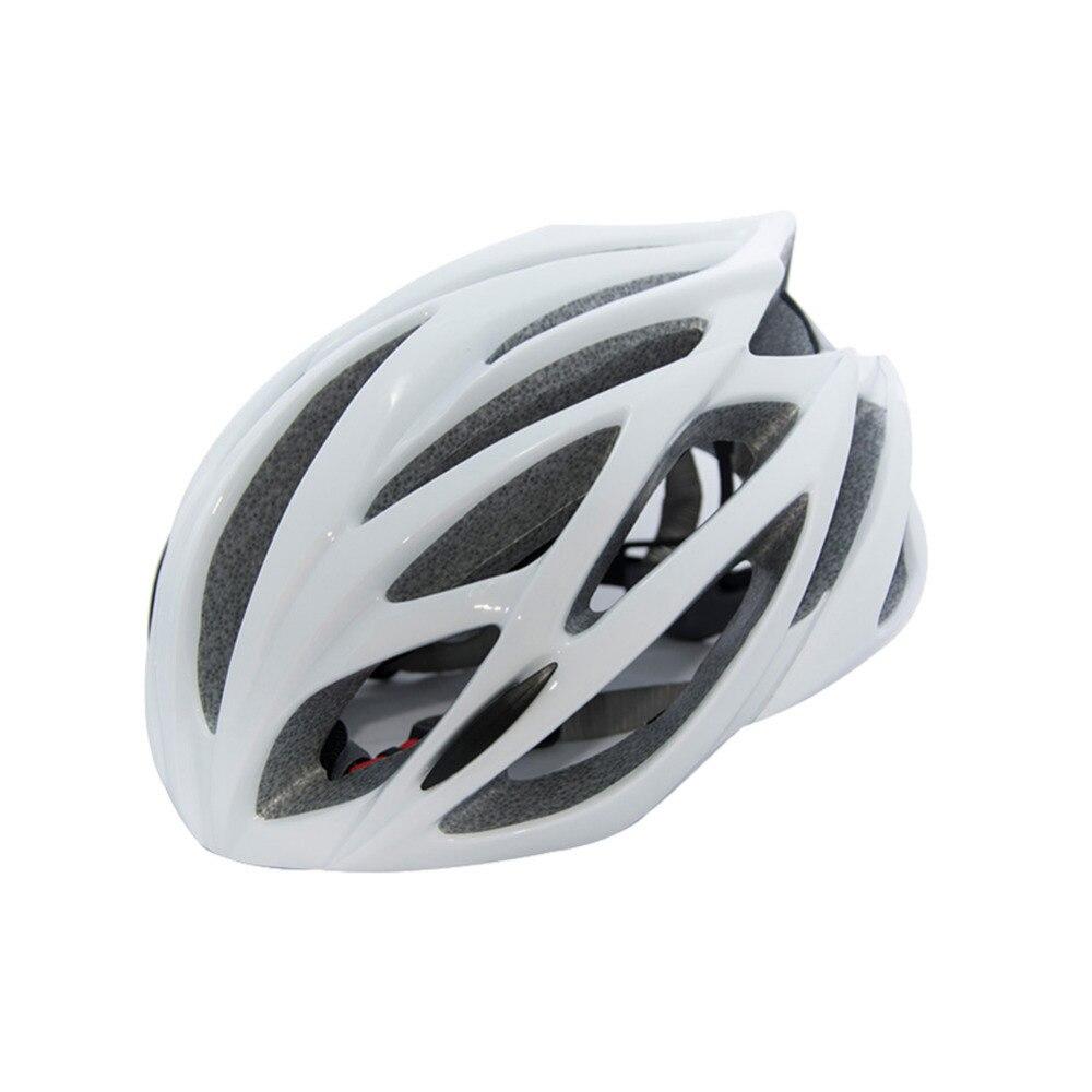 Ultra-let Special undgå Cykelhjelm Cykelhjelm Mænd Kvinder Justerbar Cykelhjelmdragt til hovedomkrets 52-65CM