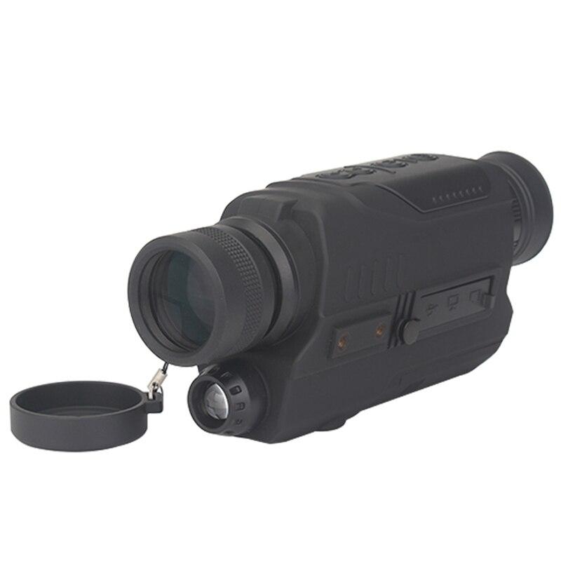 WG540 monoculaires de Vision nocturne numérique infrarouge avec carte 8G TF full dark 5X40 200M gamme optique de Vision nocturne monoculaire de chasse - 4