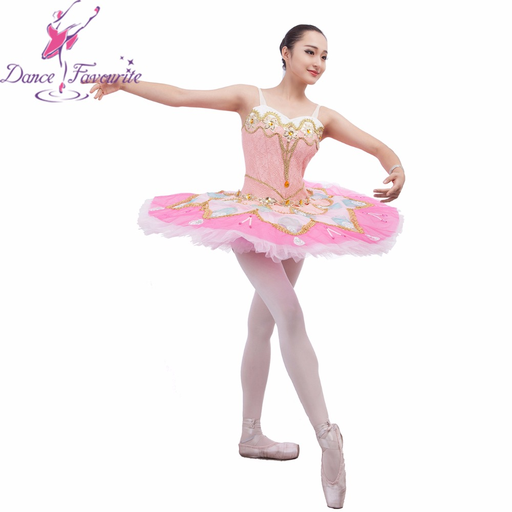 Customer size made professional ballet tutu girl dance tutu adult women dance costume ballet tutu stunning pink Ballet Tutu