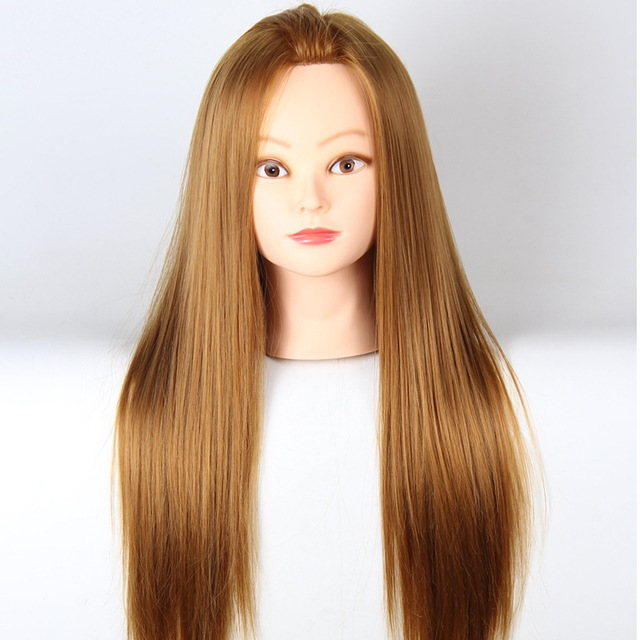 2017 Hot Hair Mannequin Head Hairdresser With Hairdressing Mannequins For Salon Training