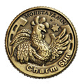 "2017 New ""Good Luck In All Your Endeavors"" copy Coin Russian Rouble Souvenirs New Year Birthday Gifts"