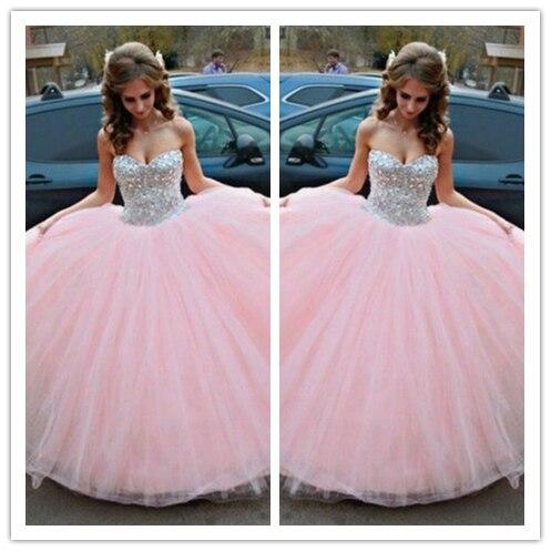 Online Get Cheap Pink White Wedding Dresses -Aliexpress.com ...