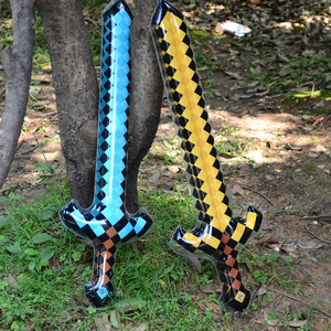 Sword Inflatable Large Swords Outdoor Game Play Toys Birthday Gifts Air Knife Weapon Toy Show Activity Props Pvc Equipments