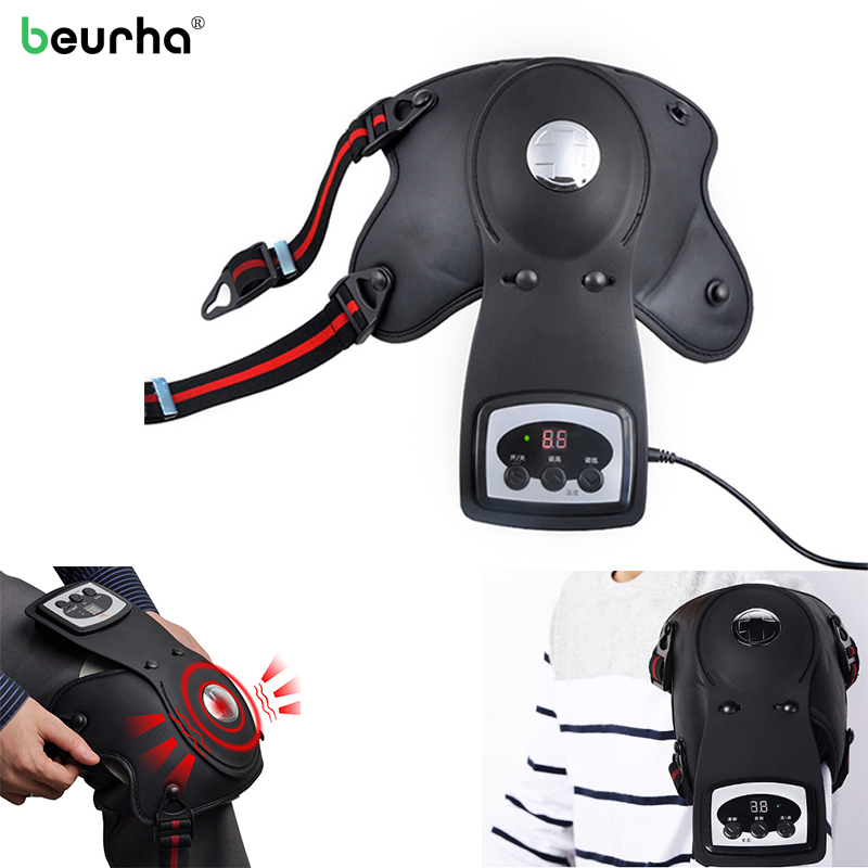Infrared Magnetic Therapy Knee Massager knee shoulder elbow Physiotherapy Instrument for rheumatism Arthritis Vibrate Massager магнитный наколенник magnetic knee strap
