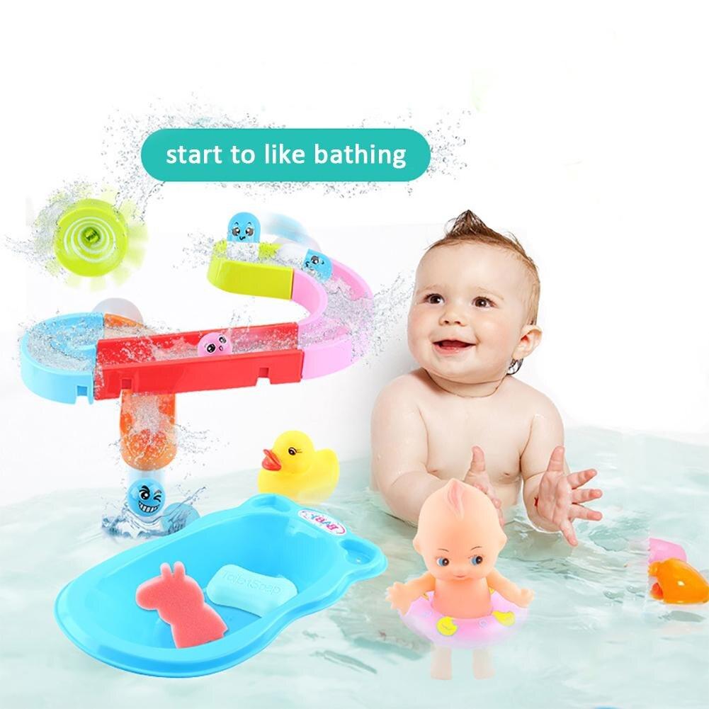 Bathroom Baby Bath Toys Shower Sprinkle Water Splashing Spinning Toys Baby Shower Dabbling Fishing Toys For Children