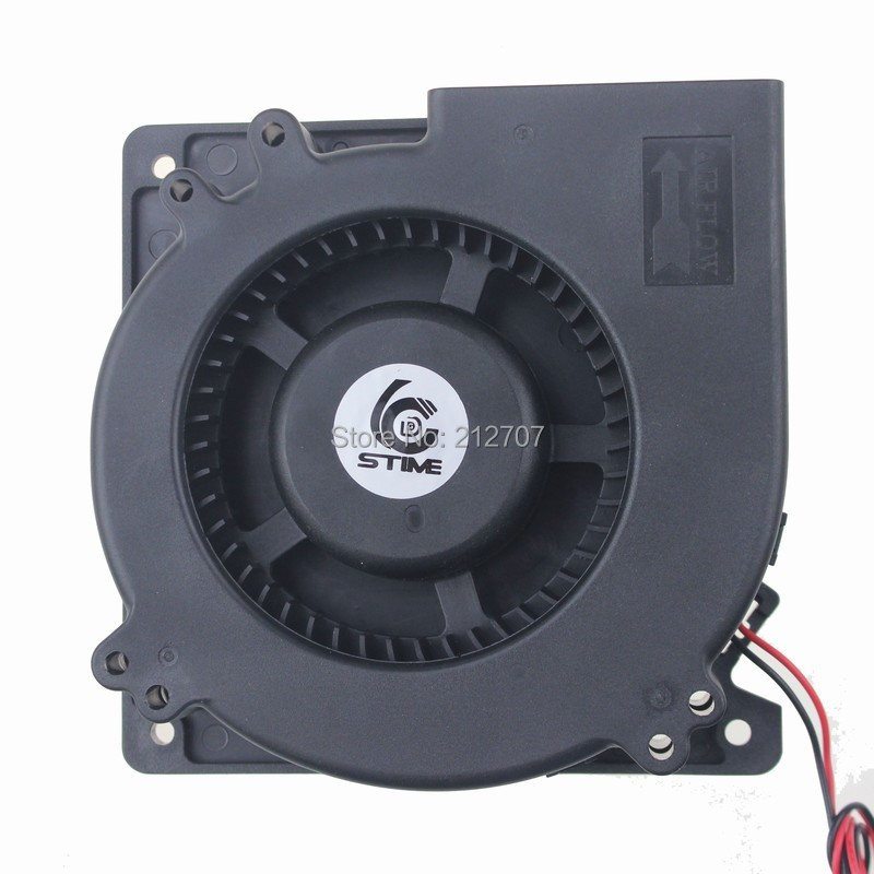 10pcs Gdstime DC 12 Volt 2Pin 12CM 120x120x32mm 120mm DC Blower Cooling Fan