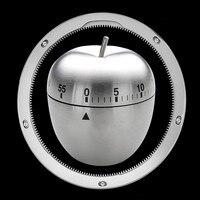 Paslanmaz Çelik Metal mekanik hareketi KitchenTimer Mekanik Arama Alarm 60 Dakika Yumurta Zamanlayıcı Mutfak Pişirme Aracı