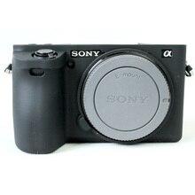 Мягкая силиконовая резина Камера защитный чехол кожи чехол для SONY A6500 Alpha A6500 ILCE-6500 Камера сумка объектива сумка