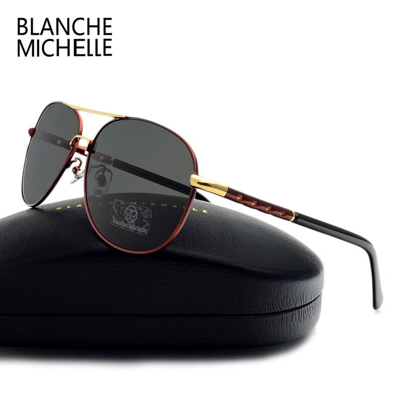 Lunettes polarisantes de styliste pour hommes | Lunettes de soleil de conduite pour Sport masculin, lunettes de soleil Oculos de styliste avec boîte, haute qualité