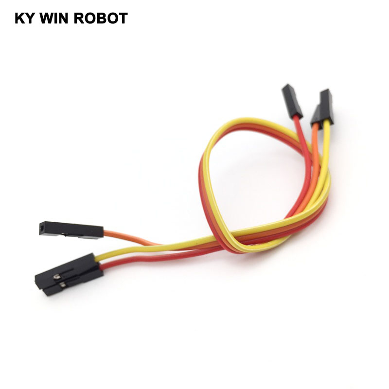 10cm 2.54mm Female To Female  Wire Jumper Cable For Arduino Breadboard  TK