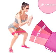 5PC/Set TPR Yoga Resistance Bands Elastic Fitness Gum Home Training Gym Exercise Equipment Expander Rubber Workout