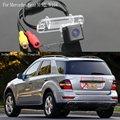 Para Mercedes Benz ML W164/Del Revés Del Coche Cámara de Aparcamiento/Cámara de Visión trasera/Cámara de marcha Atrás/CCD HD Noche visión