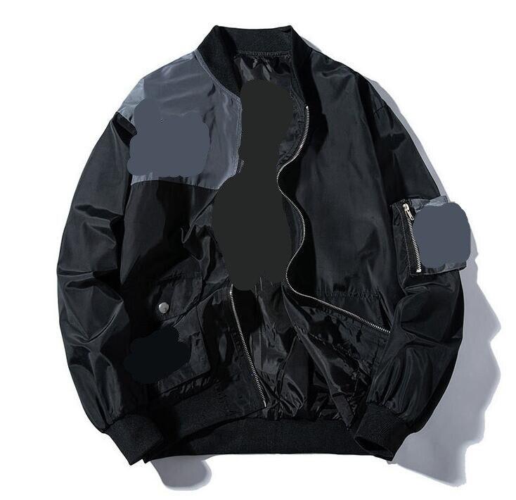 BDLJ Jacket nasa bomber jacket black