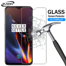 ZLNHIV tempered glass for oneplus 7 pro 6 6T 5 5T 3 3T protective film for oneplus 6t phone screen protector on glass smartphone