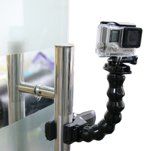 Black friday Gopro tripod monopod Jaws Flex Clamp Mount and Adjustable Neck for GoPro Camera Hero1/2/3/3+/4 sj4000/5000/6000