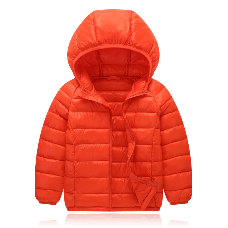 2017 Winter Autumn Kids Coat Cotton Baby Boys Girls Outwear Fashion Down Jacket For Girls Boys Children Warm Hooded Coats 2016 winter thin down jacket fashion girls boys cotton hooded coat children s jacket outwear kids casual striped outwear 16a12
