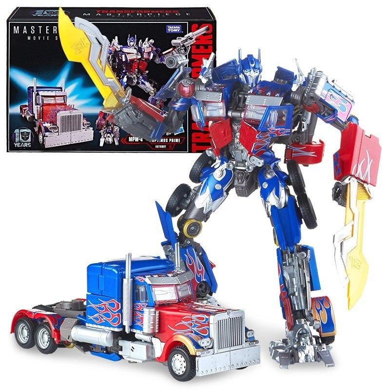 Hasbro Transformers Toy Movie 5 US Version Master Optimus MPM04 C0893 hasbro transformers genuine movie series mb 13 broken bone boy toy