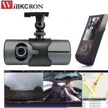 "Cámara del coche dvr Dash cam 2.7 ""1080 P GPS logger Dual Len Cámara del coche del Vehículo dvr Grabador de Video Dash Cam Dashboard Portable"