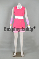 Sonic Boom Team Sonic Amy Rose the Hedgehog Pink Outfit Cosplay Costume F006