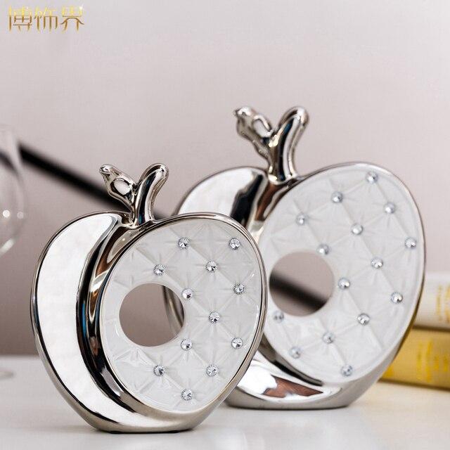 Simple Ceramic Ornaments Apple Wedding Gift Bestie Girl Girlfriend