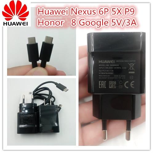 <font><b>Original</b></font> Huawei <font><b>Nexus</b></font> 6P Fast <font><b>charger</b></font> for <font><b>Nexus</b></font> <font><b>5X</b></font> Honor 8 MATE 9 <font><b>charger</b></font> 5V/3A USB wall Quick <font><b>charger</b></font> adapter&#038;Type-C cable