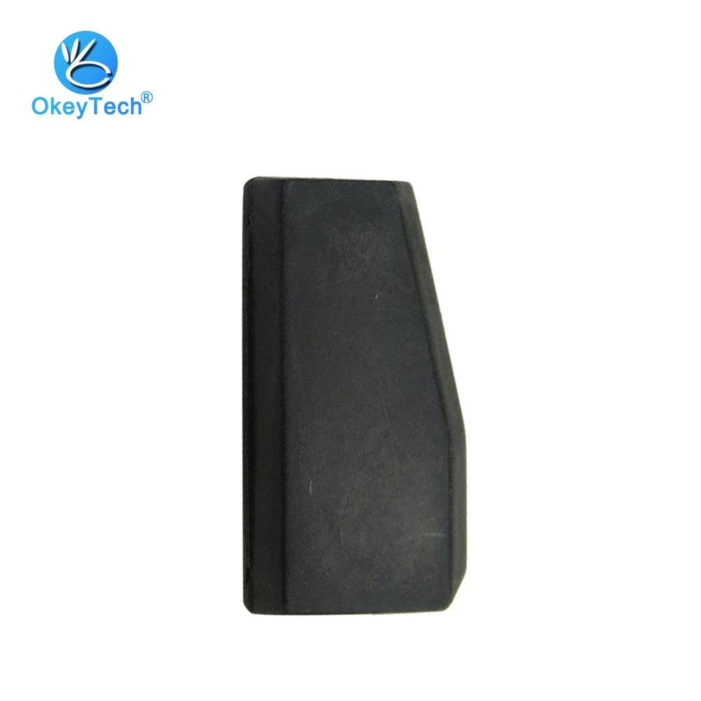 OkeyTech 1 шт. T5 Автомобильный ключ чип транспондер углеродный чистый керамический ID20 для Fiat Benz Honda копия для ID 11 12 13 33 чип